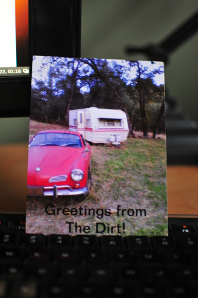 Image for This is, The Dirt. Thanks, Jezra! #postcard