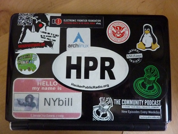 Image for 2 new HPR stickers this year