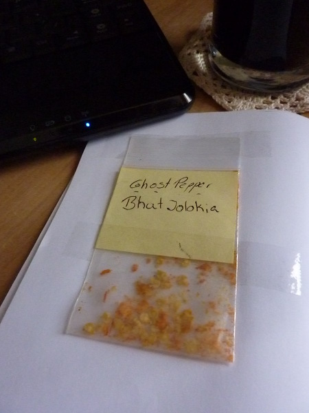 Image for Ghost Pepper Seeds